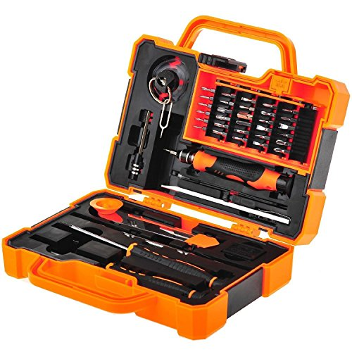 EEEKit Precision 45 in 1 Screwdriver Set Repair Maintenance Kit Tools for iPhone, iPad, Samsung Cell Phone,Tablet PC, Laptop,Computer and other Electronic Devices (45 in - Kit Tool Repair Pc