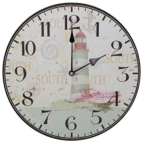 51O4ketmkQL The Best Beach Wall Clocks You Can Buy