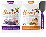 Swerve Sweetener Bakers Bundle (12 Ounce Confectioners & Granular + Spatula): spatula may vary