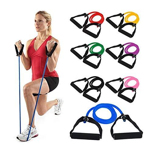 Amazon.com: CUSHY 120cm Elastic Resistance Bands Yoga ...