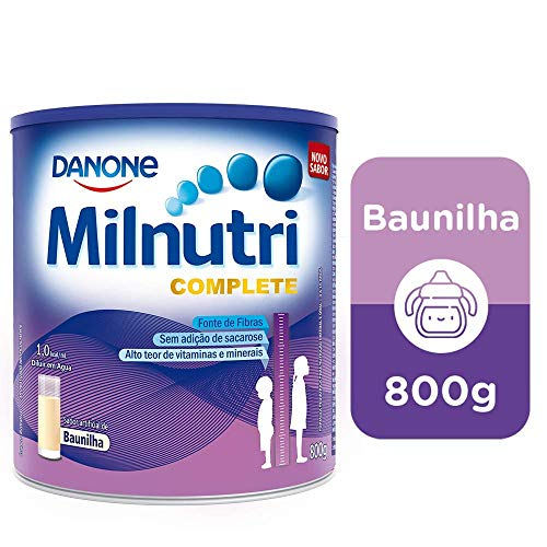 Suplemento Infantil Milnutri Complete Baunilha Danone Nutricia 800g