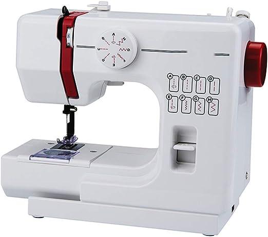 Máquina de coser portátil con 2 velocidades 8 puntos de costura ...