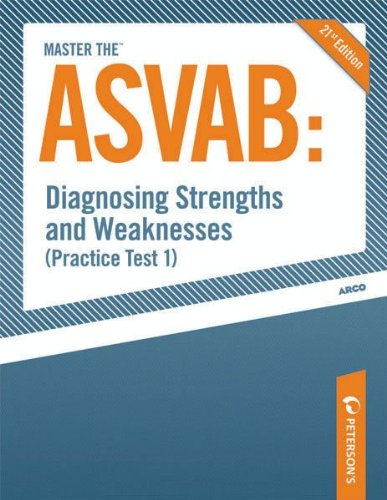 Master The Asvab Diagnosing Strengths And Weaknesses Practice Test 1