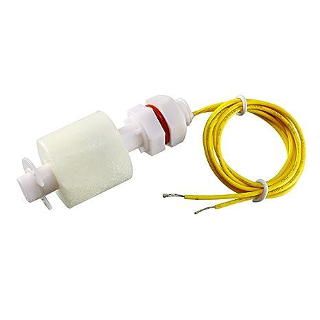 sourcingmap® Sensor de nivel de agua Vertical del líquido del depósito de piscina Controlador de