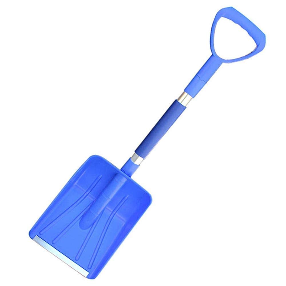 Woiitc Automotive Retractable Snow Shovel With Stainless Steel Handle For Household Fast Snow Removal