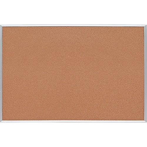 Sparco Cork Board, 1/2 Inches Thick, 4 x 3 Feet, Aluminum Frame (SPR19765) by S.P. Richards Company