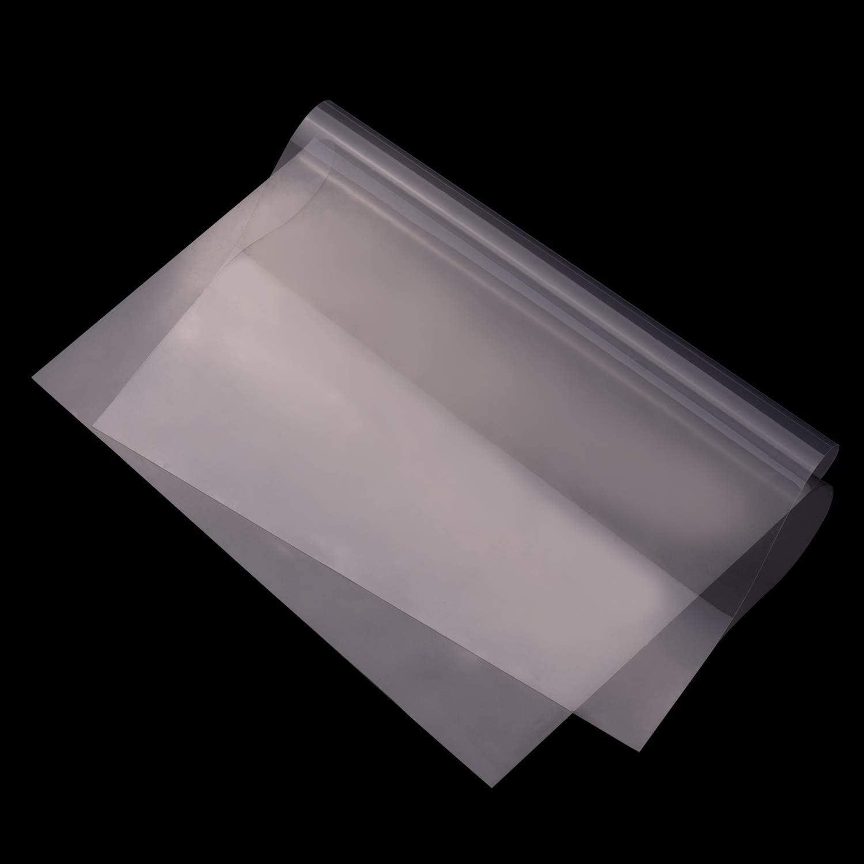 Domilay 10 Pi/èCes de Feuille FEP Photon 3D Imprimante 0.1Mm Fep Film 280Mm X 200Mm pour 3D Accessoires pour Pi/èCes DImprimante