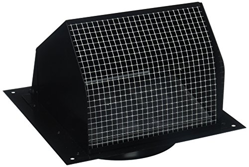 Broan 843BL Wall Cap Black for 6