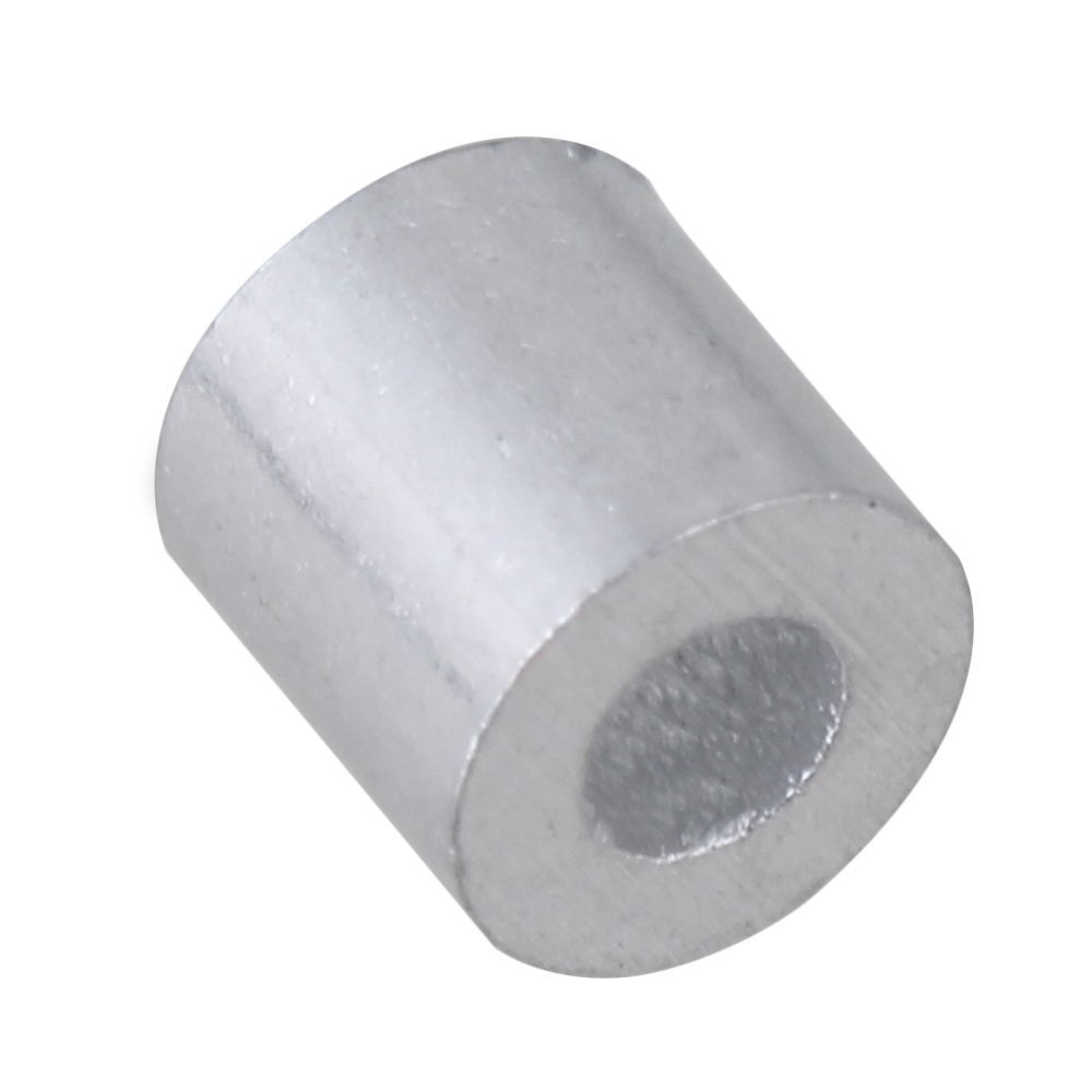 cnbtr 1,5 mm rund Metallkappen Remasuri Aluminium Crimpen Schlaufe ...