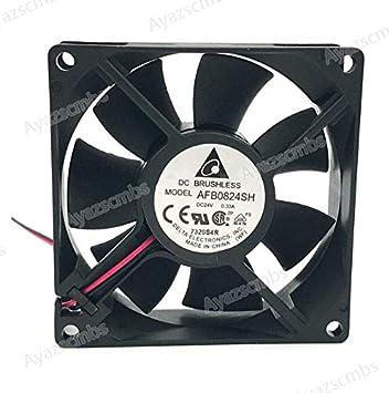 Ayazscmbs enfriamiento Ventilador Compatible para Delta 80mm ...