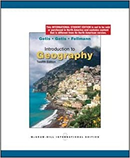 Introduction to geography arthur getis judith getis jerome donald introduction to geography arthur getis judith getis jerome donald fellmann 9780071284530 amazon books fandeluxe Images