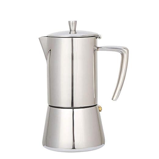 300ML 6 tazas de cocina de acero inoxidable Moka Máquina para ...