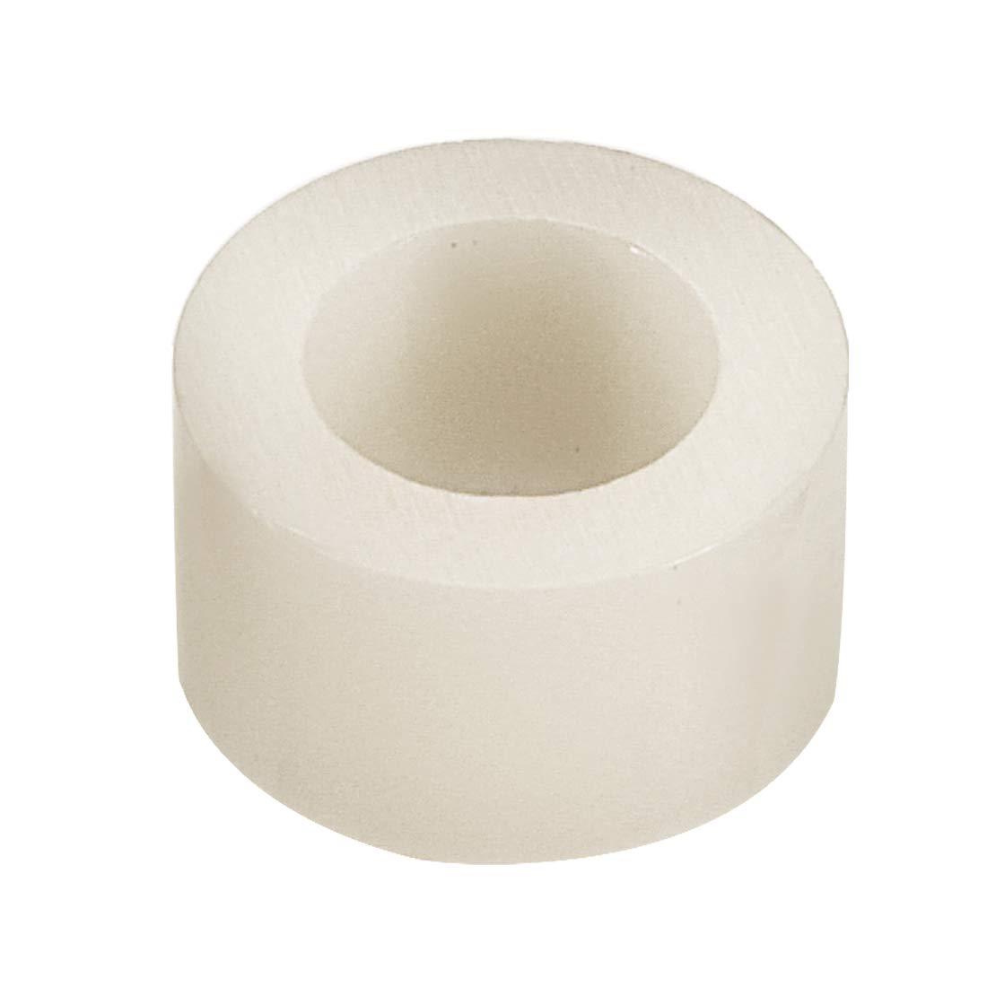 Sourcingmap 4 mm de di/ámetro interior Arandelas de cilindro redondo ABS de 7 mm de di/ámetro exterior