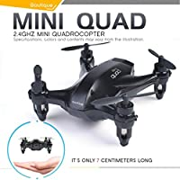 Mini Drone,Rucan X165 4CH 2.4G Mini Drone 3D Rolling Headless Mode RC Helicopters RTF Hover Toy (A)