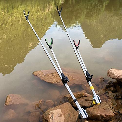 釣りロッドホルダーブラケットの角度調整釣りロッドホルダーテレスコピックフィッシングツールハンドロッドホルダー