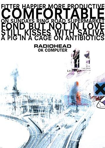 Radiohead Ok Computer Giant Poster