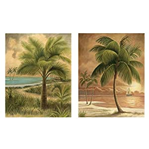 51O4obb3U8L._SS300_ Best Palm Tree Wall Art and Palm Tree Wall Decor For 2020