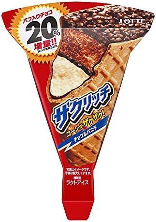 Amazon ロッテ ザクリッチ 105ml 24袋 ロッテ アイスクリーム 通販