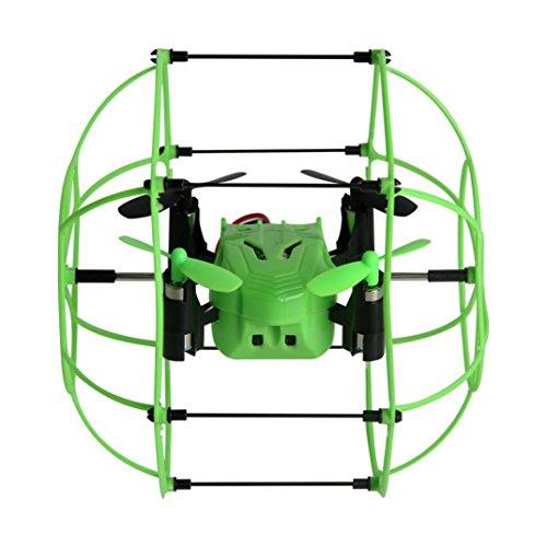 OVERMAL Helic Max Sky Walker 1336 2.4GHz 4CH RC Quadcopter 3D Flip Climbing Wall (Star Wars Walker Dog Costume)