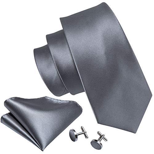 Handkerchief Necktie Set - 8
