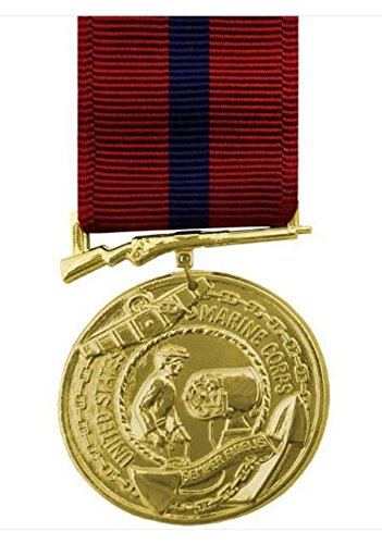 Vanguard FULL SIZE MEDAL: MARINE CORPS GOOD CONDUCT - 24K GOLD PLATED ()