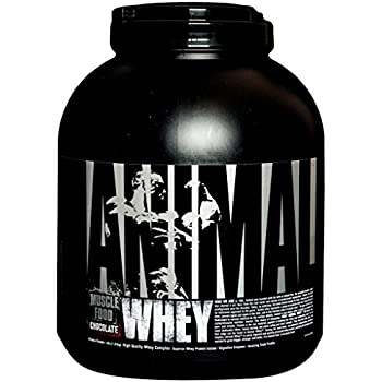 Universal Nutrition Animal Whey Isolate Loaded Protein Powder Supplement Chocolate 4 Pound
