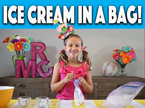 How to make Ice Cream in a bag!