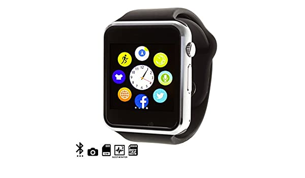 DAM TEKKIWEAR. G08 SMARTWATCH.4x1x4,5 cm. Color: Negro: Amazon.es ...