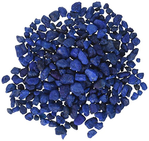 Image of Pure Water Pebbles Aquarium Gravel, 2-Pound, Marine Blue