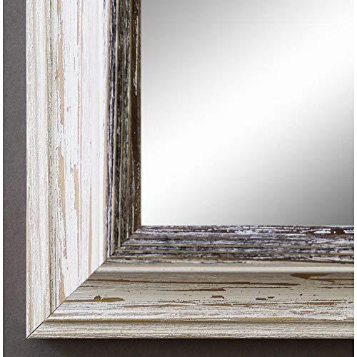 Wandspiegel Badspiegel Flurspiegel modern Schwarz 80 x 40 cm