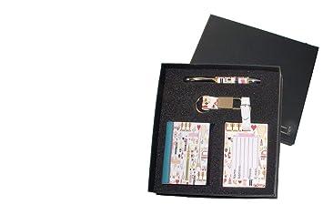 Dorex 7740 - Set con libreta, llavero, bolígrafo y tarjeta ...