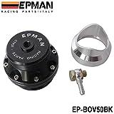50mm blow off valve - EPMAN Motorsport 50mm Weld On Blow Off Valve For Audi And Volkswagon (Black)