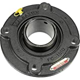 Regreasable 5-5//8 Bolt Hole Spacing Width 4 Bolt Setscrew Locking Collar 13//16 Flange Height 2-7//16 Bore 6-7//8 Overall Length Cast Iron Housing /±2 Degrees Misalignment Angle Felt Seals Sealmaster SF-39 Standard Duty Flange Unit