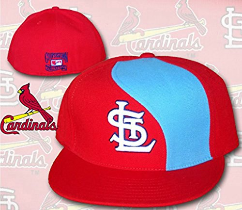 St. Louis Cardinals WAVE Fitted Size 7 5/8 Cooperstown Collection Hat Cap
