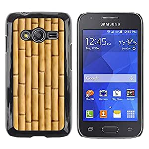 iKiki Tech / Estuche rígido - Beige Natural Nature Wood - Samsung Galaxy Ace 4 G313 SM-G313F