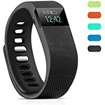 Vnown Fitness Tracker, Bluetooth 4.0 Sleep Monitor Calorie Counter Pedometer Sport Activity Tracker for Android and iOS Smart Phone