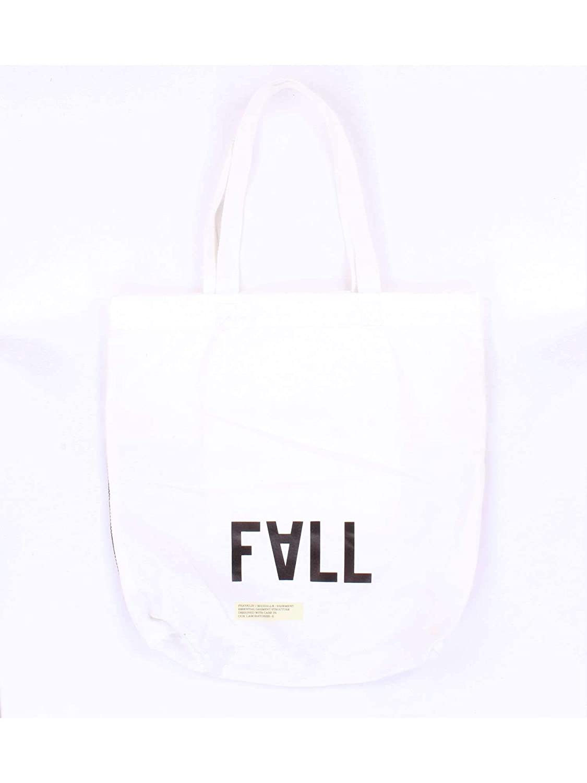 Franklin /& Marshall Mens Bgua956w7white White Fabric Tote
