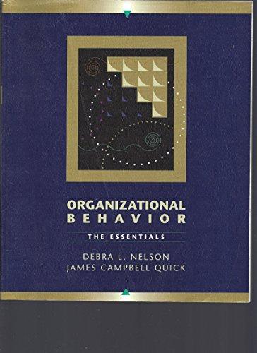 Organizational Behavior: The Essentials