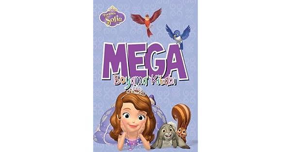 Disney Prenses Sofia Mega Boyama Kitabı Kolektif Amazoncomtr
