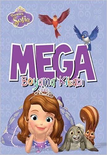 Disney Prenses Sofia Mega Boyama Kitabi Collective