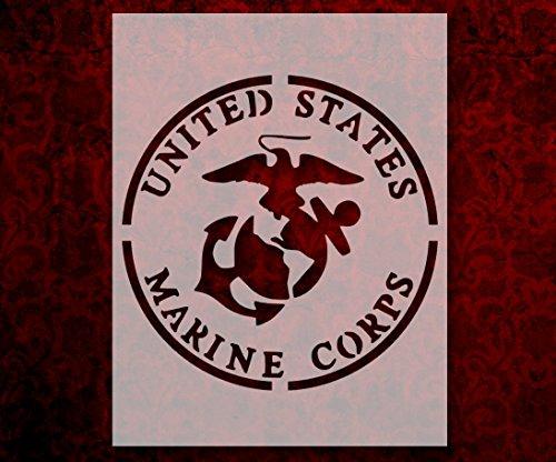 (US U.S. United States Marines Marine Corps 8.5