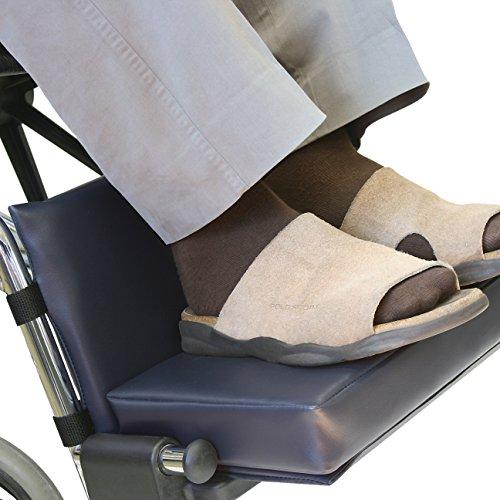Footrest Extender Wheelchair Leg Rest Pad Size: 2