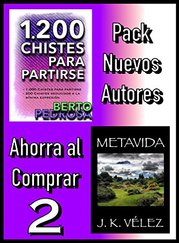 Pack Nuevos Autores Ahorra al Comprar 2: 1200 Chistes para partirse, de Berto Pedrosa