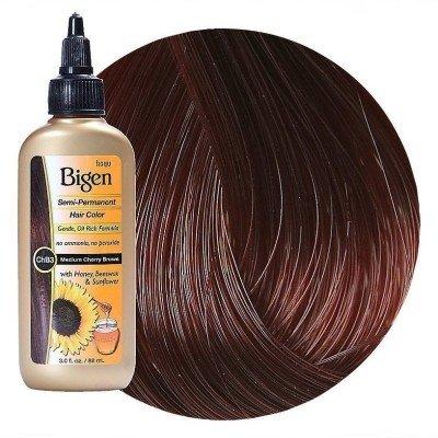 Bigen Semi-Permanent Haircolor #Chb3 Medium Cherry Brown 3 Ounce (88ml) (3 Pack)
