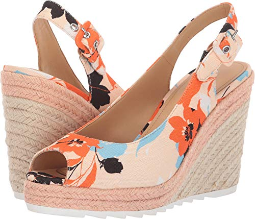 Nine West Women's Zoey Orange 10.5 M ()
