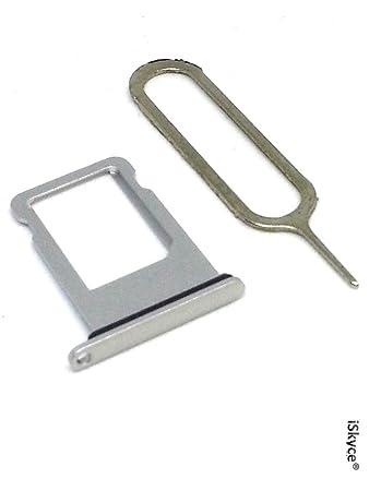 For Apple iPhone 5 Silver Seal + Nano SIM Card Tray: Amazon