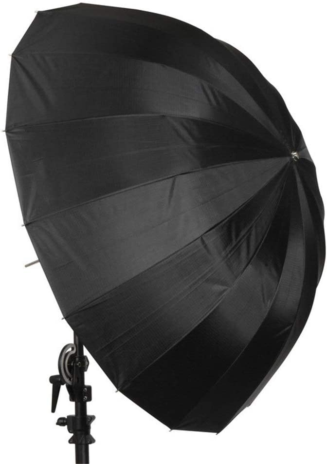 Tuuertge Reflector for Photography Reflector Umbrella 165cm Reflective Photography Umbrella Silver Reflective Umbrella Black Silver Reflective Umbrella Light Reflecto Color : Black, Size : 165cm