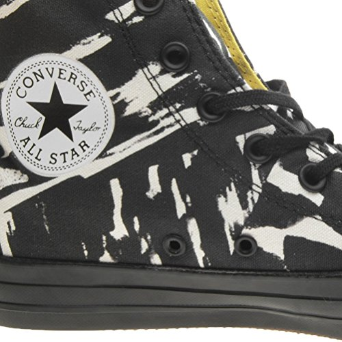Converse Unisex Graphics Black White Adulto Sneaker Star Hi Paint IErxYwrq