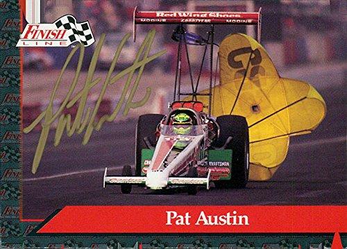 Signed Austin, Pat 1993 Finish Line Racing Card autographed - Austin Finish