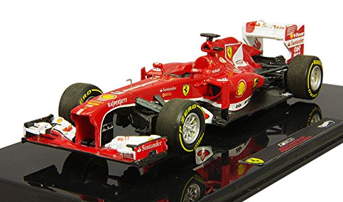 Hot wheels BCK13 Elite Ferrari F2013 F138 Fernando Alonso Formula 1 2013 F1 China GP 1/43 Diecast Car Model by Hotwheels